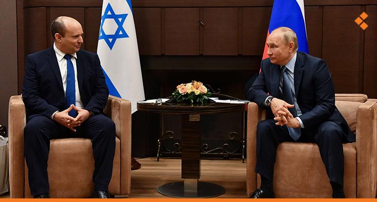 """بوتين لبينيت: لدى روسيا و""""إسرائيل"""" خلافات عديدة بشأن سوريا لكن هناك نقاط تماس أيضاً"""